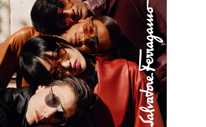 Sunglasses take the spotlight for Salvatore Ferragamo fall-winter 2019 campaign