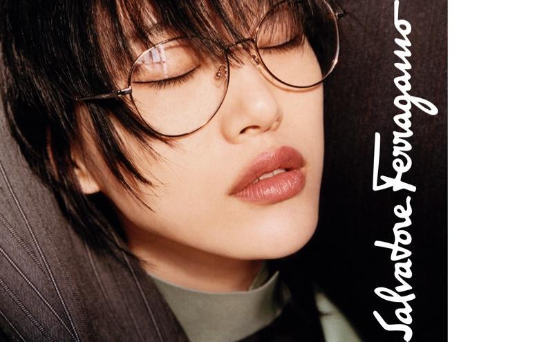 Sora Choi gets her closeup in Salvatore Ferragamo fall-winter 2019 campaign
