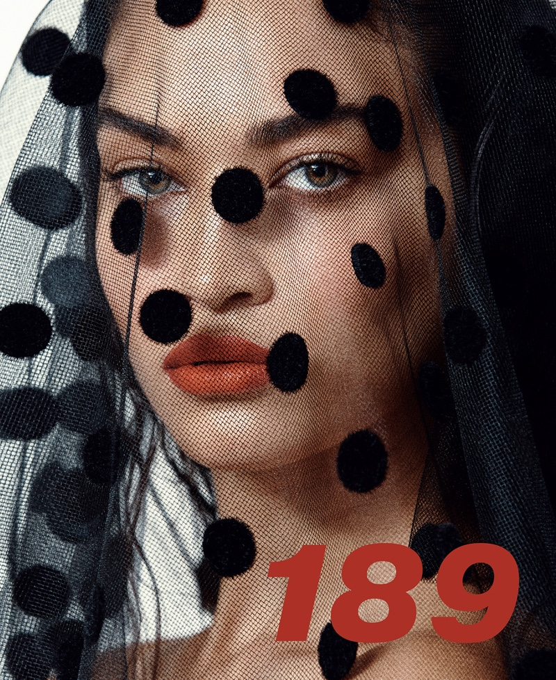 Shanina Shaik Enchants for the Pages of L'Beaute Magazine