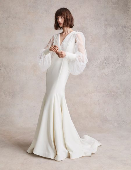 Sibui Nazarenko Wears Bridal Looks for Vogue Japan Wedding
