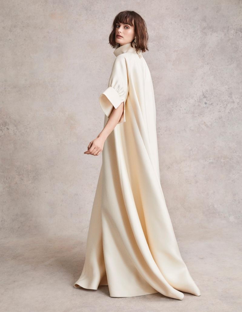 Sibui Nazarenko Wears Bridal Looks for Vogue Japan Wedding