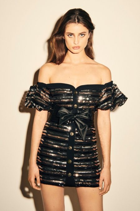 Taylor Hill Goes Glam in Philosophy di Lorenzo Serafini Resort 2020