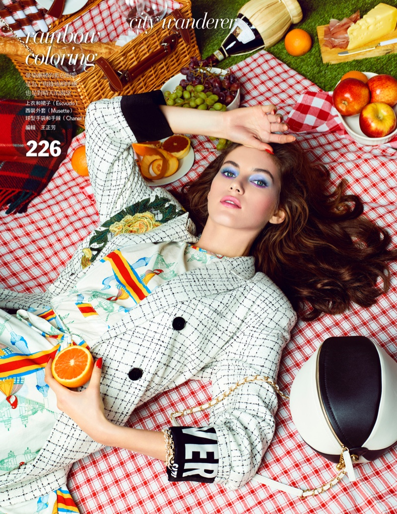 Valery Kaufman is A City Slicker for Vogue Taiwan
