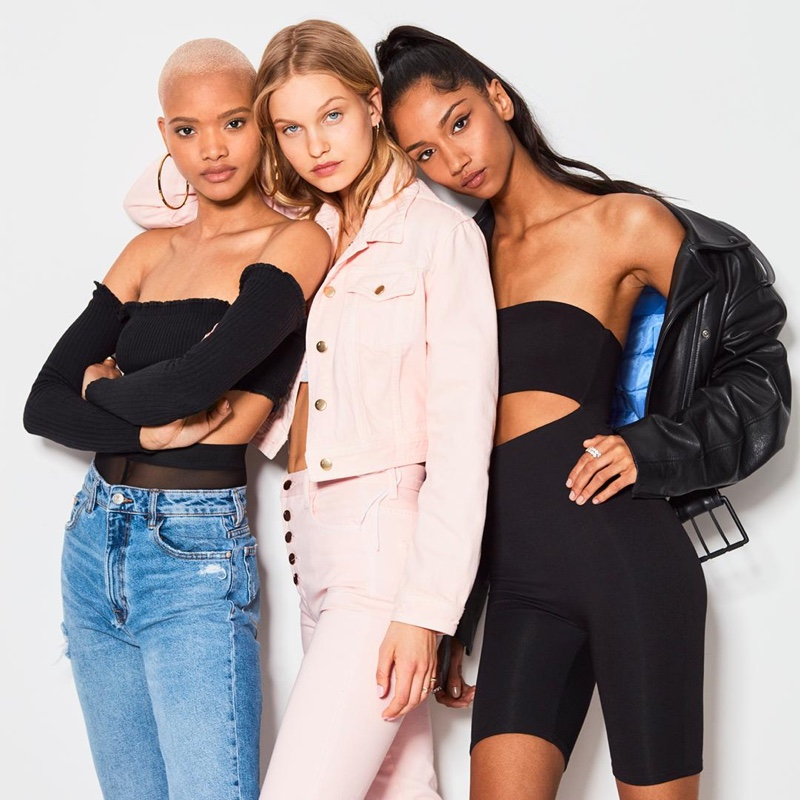 Iesha Hodges, Lotta Maybelake and Aiden Curtiss front Victoria's Secret Summer Fragrance trio campaign