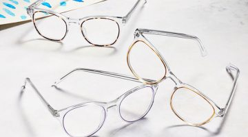 Warby Parker Concentric glasses