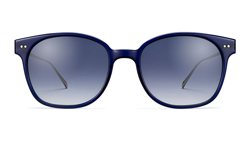 Warby Parker Tilden Sunglasses in Lapis Crystal with Riesling $145