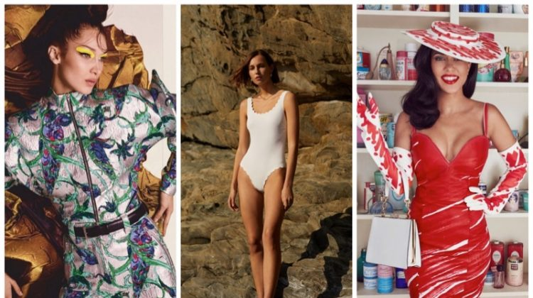 Week in Review | Bella Hadid's New Cover, Mango Swim, Kourtney Kardashian for Paper + More