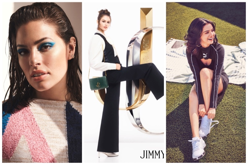 Week in Review | Ashley Graham's New Cover, Kaia Gerber for Jimmy Choo, Selena Gomez in PUMA + More