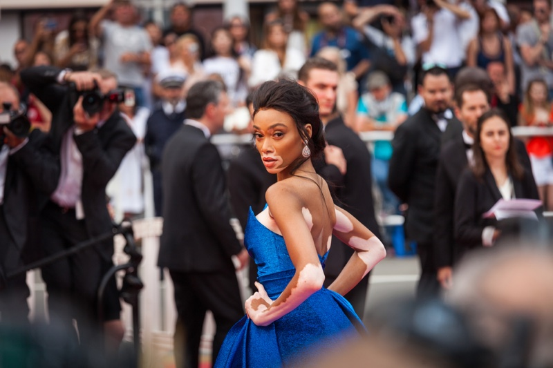 Winnie Harlow at Cannes Film Festival