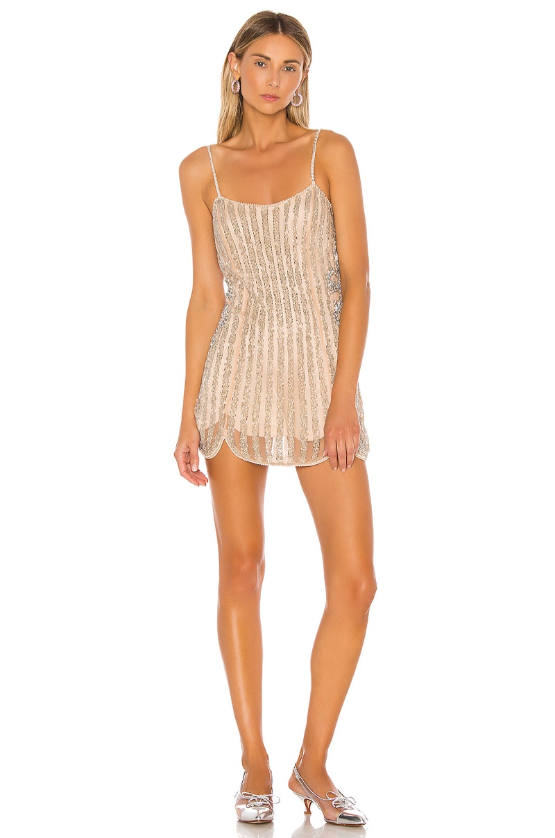X by NBD Lala Embellished Mini Dress $338