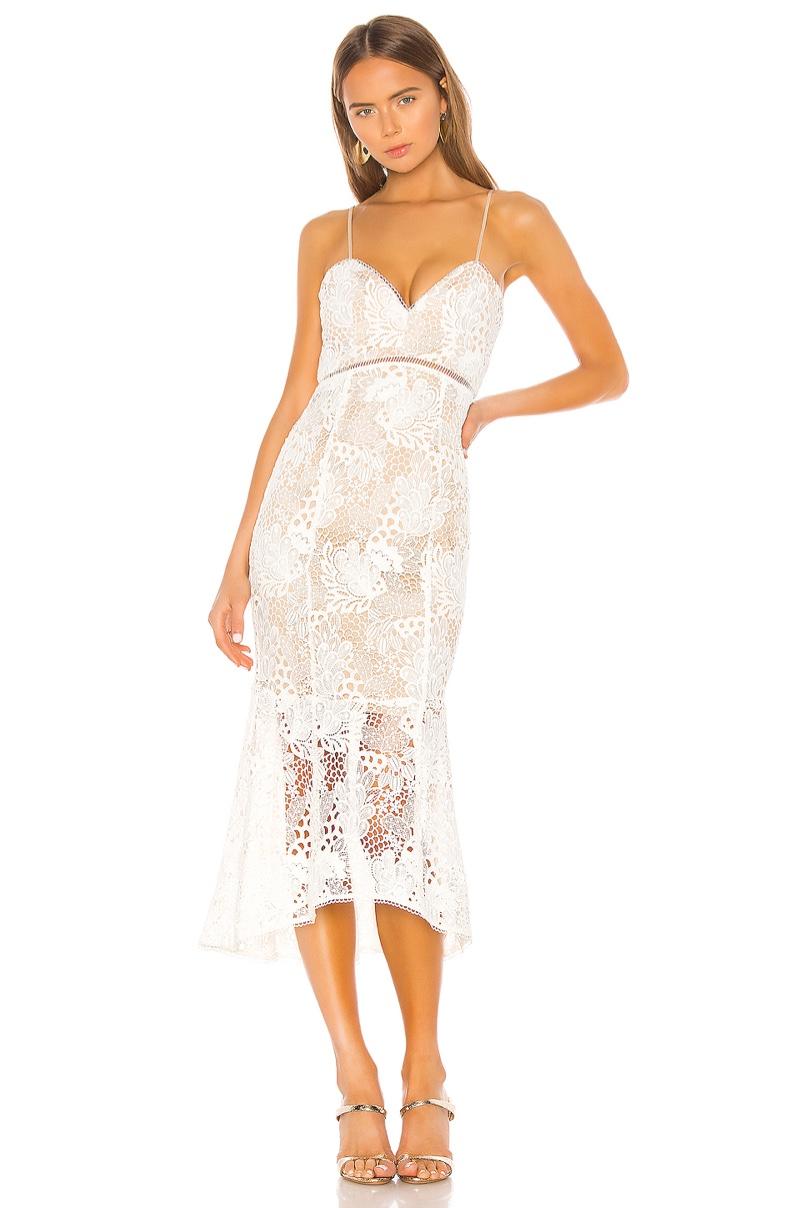 X by NBD Tove Midi Dress $310