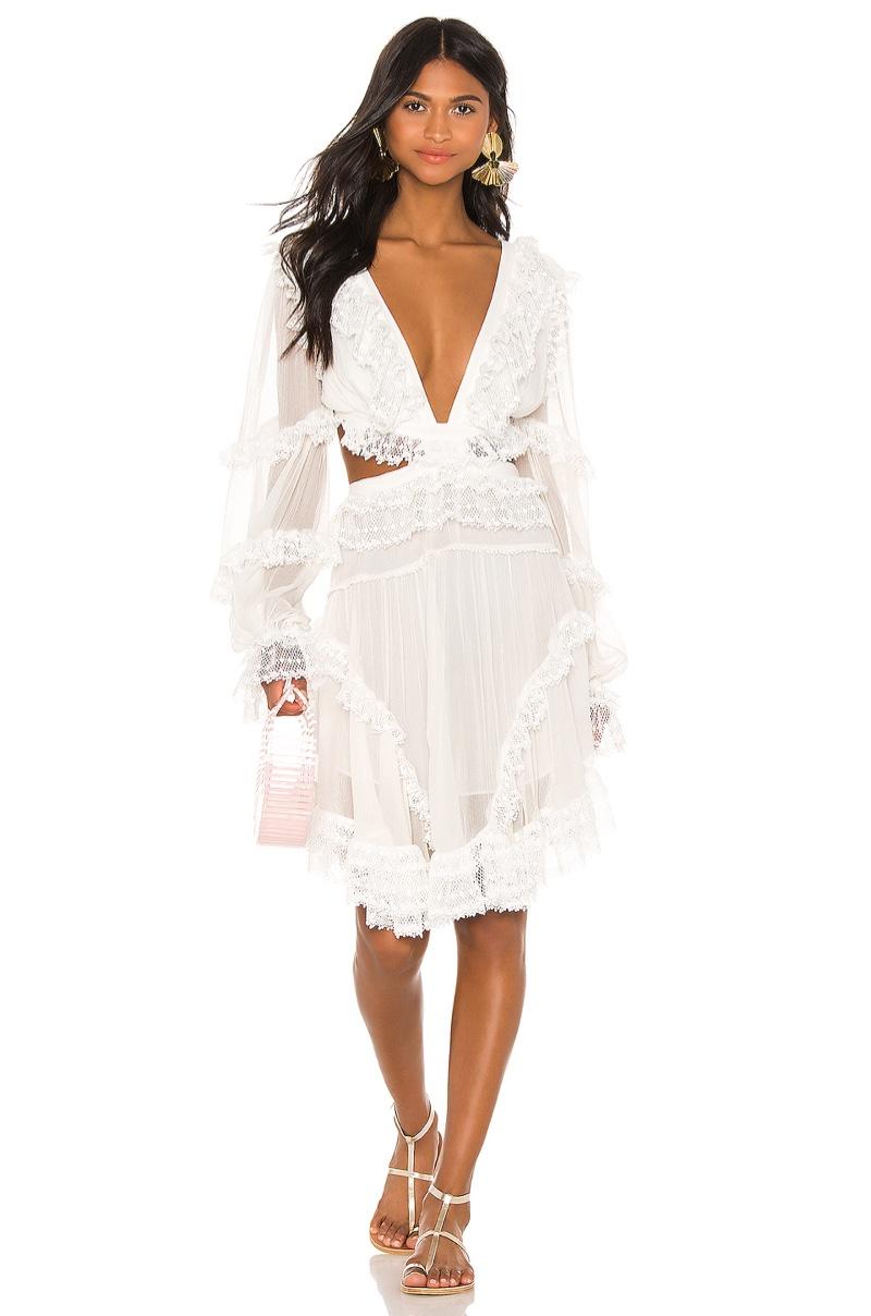 Zimmermann Suraya Cut Out Dress $1,150
