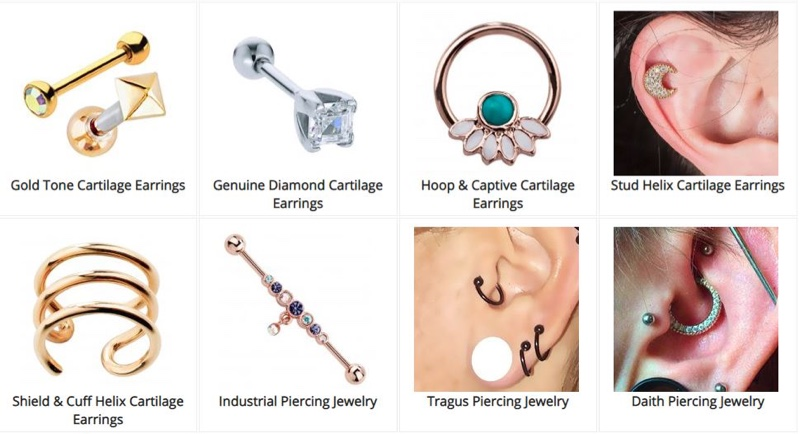 daith piercing jewelry guide