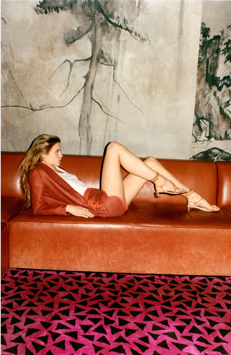 Abbey Lee Kershaw flaunts some leg in 2019 Photo Project