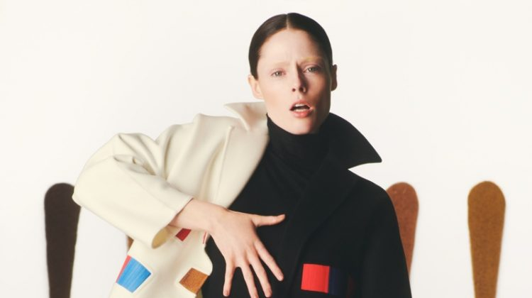 Coco Rocha stars in Akris fall-winter 2019 campaign