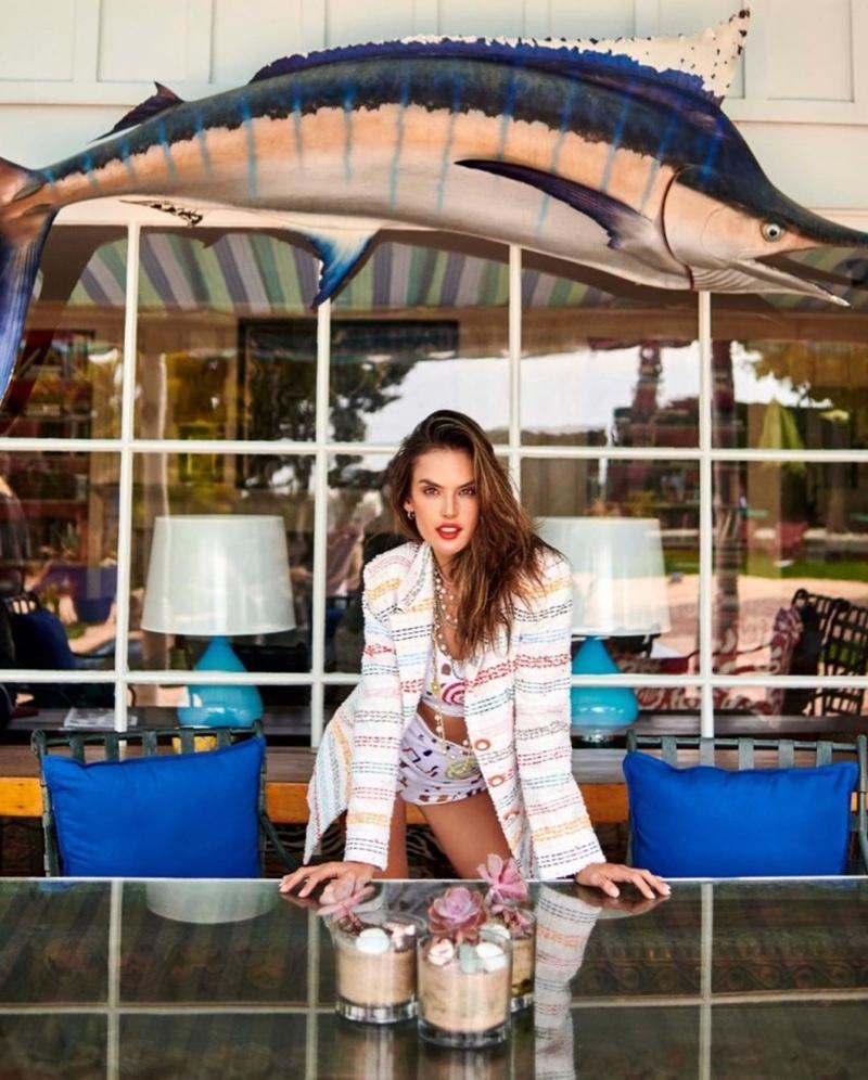 Alessandra Ambrosio Brings Cali Vibes to Harper's Bazaar Turkey