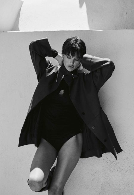 Alessandra Ambrosio Poses in 90's Inspired Styles for Vogue Greece