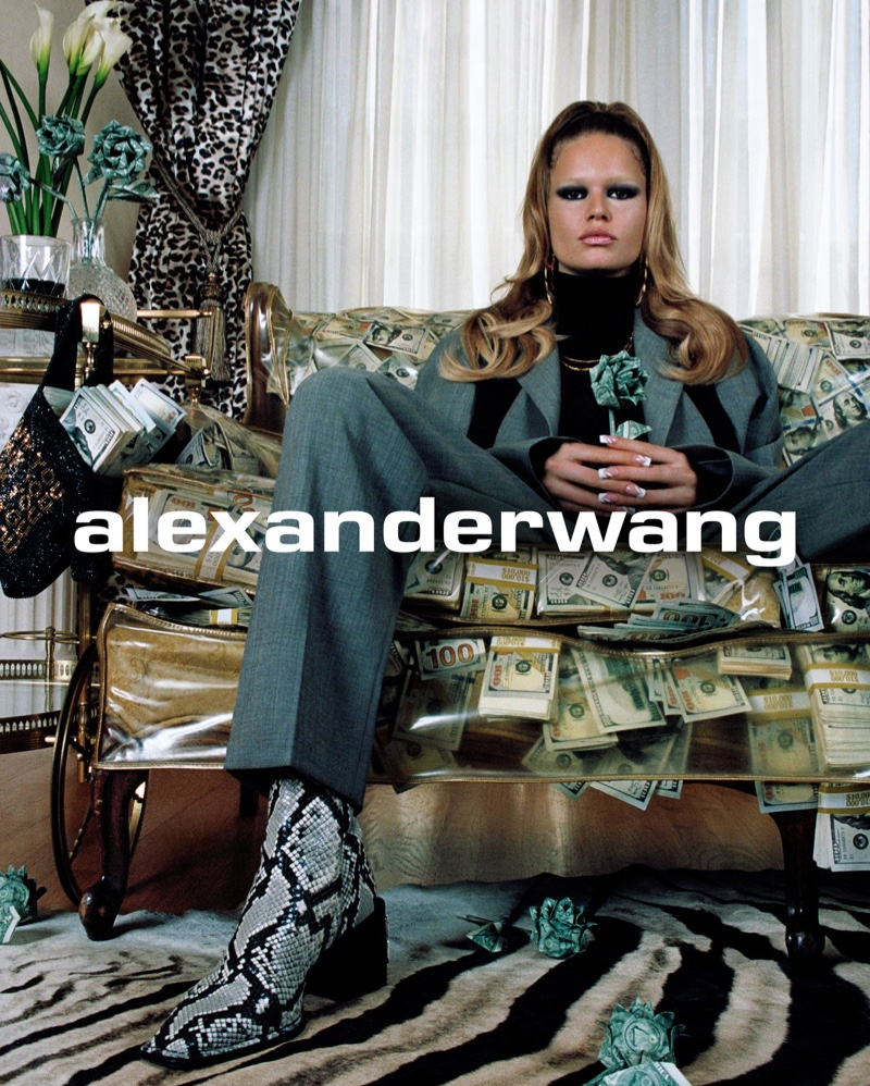 Anna Ewers stars in Alexander Wang Collection 2 2019 campaign