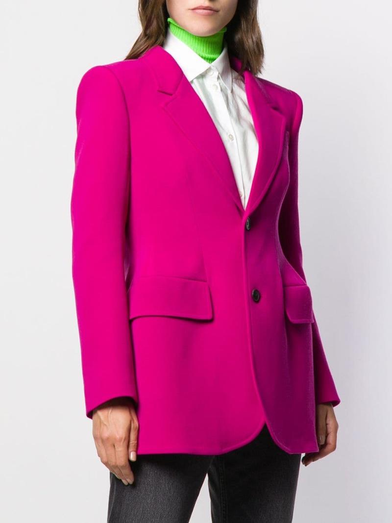 Balenciaga Hourglass Structured Jacket $2,785