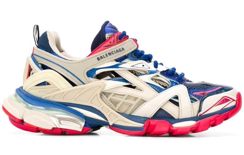 Balenciaga Track.2 Open Sneakers $895