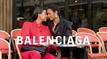 Laura Suazo and Ysaunny Brito couple up for winter 2019 campaign