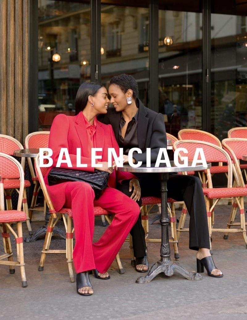 Laura Suazo and Ysaunny Brito couple up for winter 2019 campaign