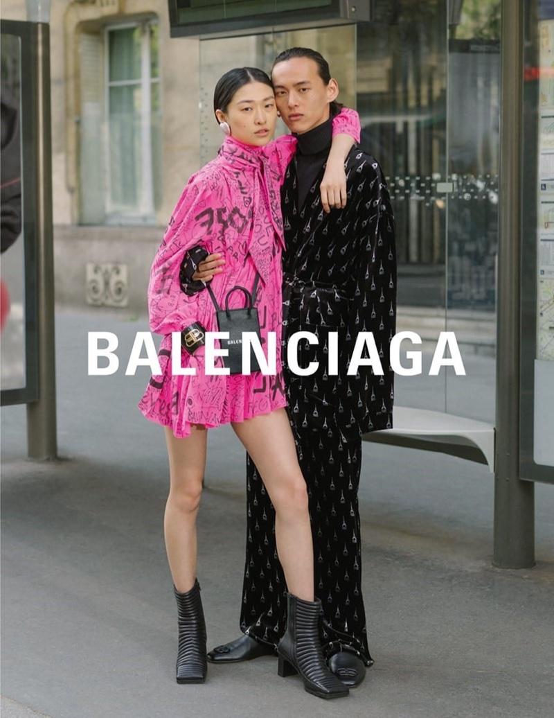 Greg Finck photographs Balenciaga winter 2019 campaign