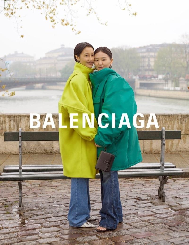 Balenciaga spotlights outerwear with winter 2019 campaign