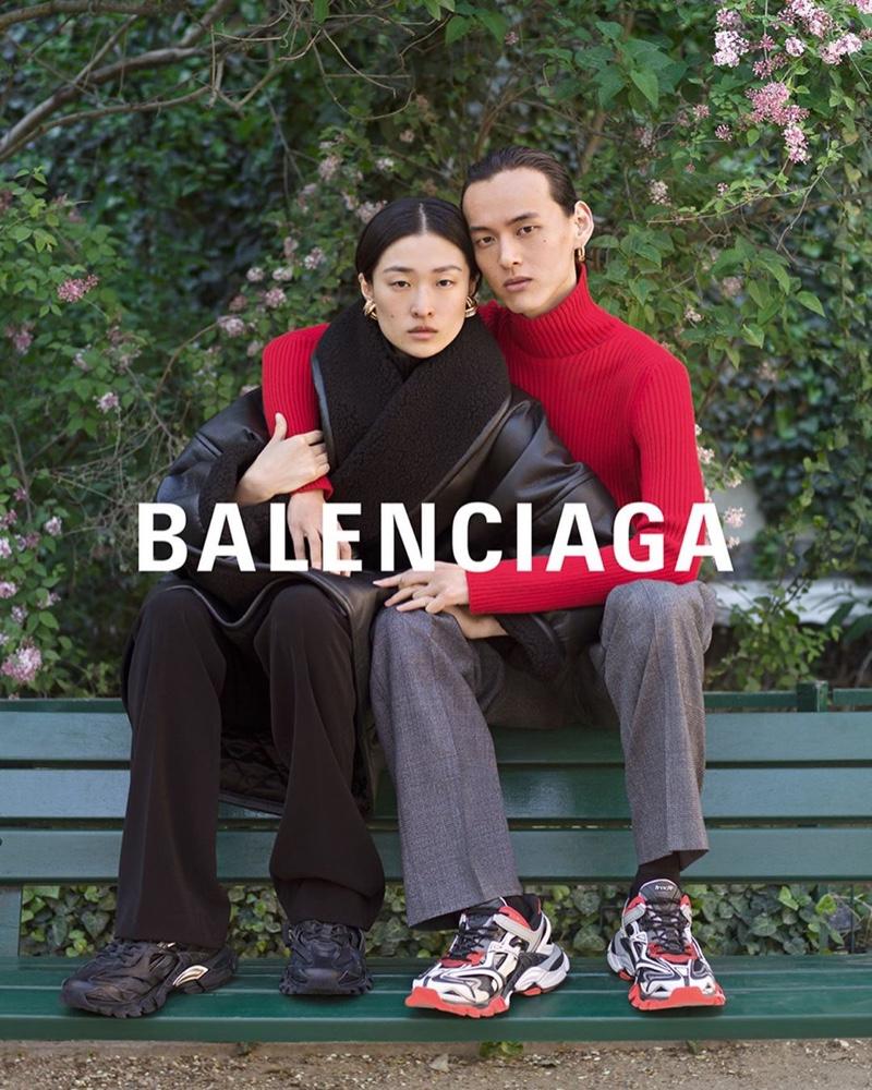 Balenciaga gets romantic for winter 2019 campaign