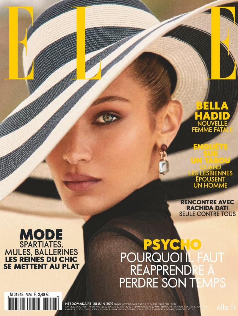 Bella Hadid on ELLE France June 2019 Cover