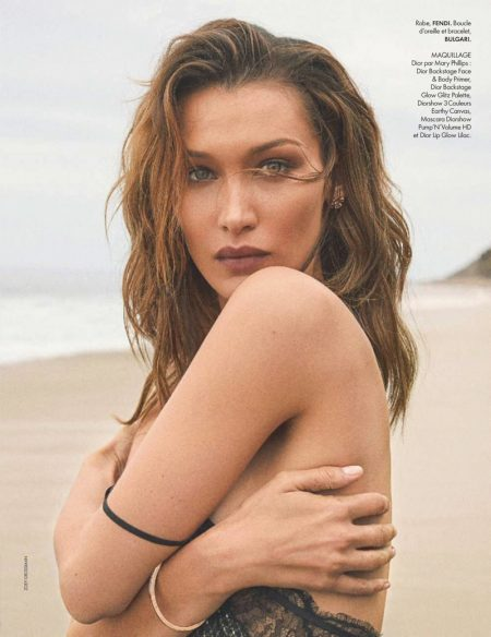 Bella Hadid Embraces Glamorous Summer Style for ELLE France