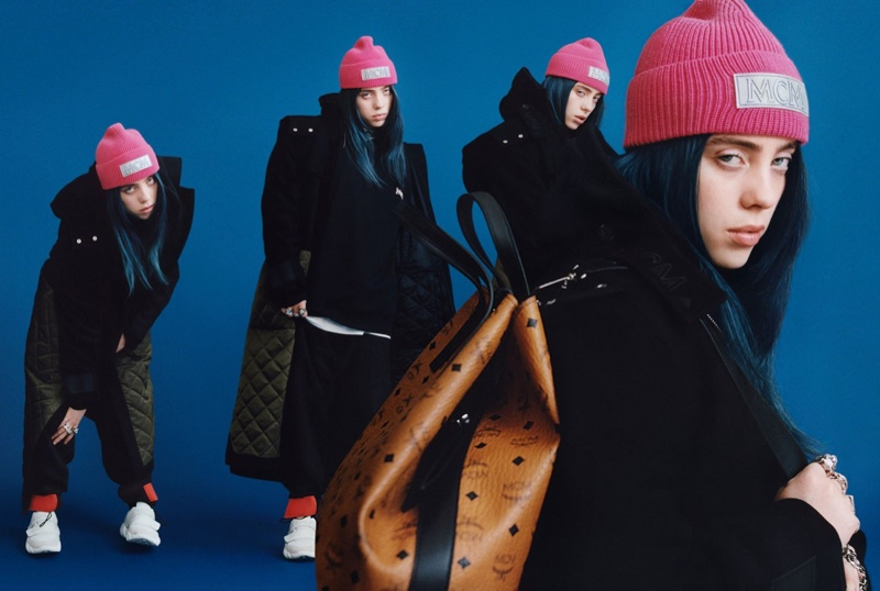 Billie Eilish stars in MCM fall-winter 2019 campaign