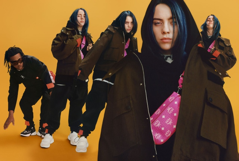 Billie Eilish wears her signature baggy style for MCM fall-winter 2019 campaign