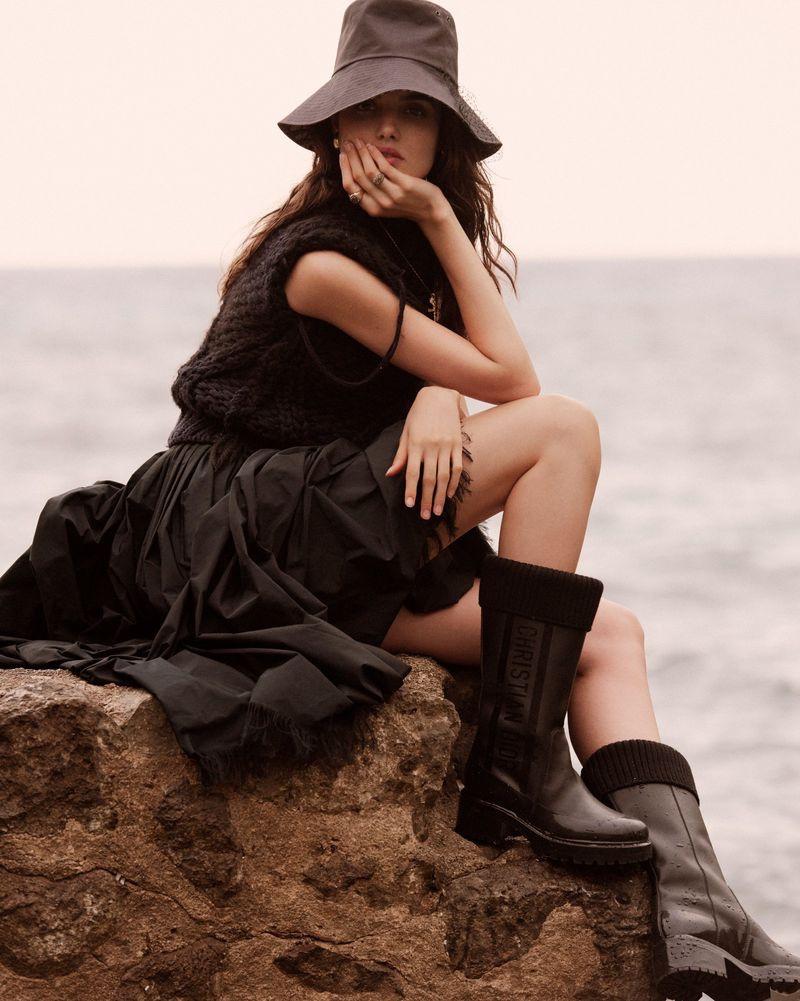 Blanca Padilla Models Vacation-Ready Looks for Harper's Bazaar Spain
