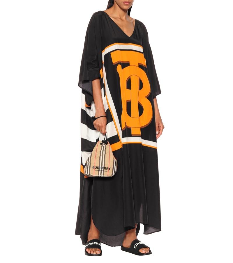 Burberry Kalani Cotton Silk Kaftan $990