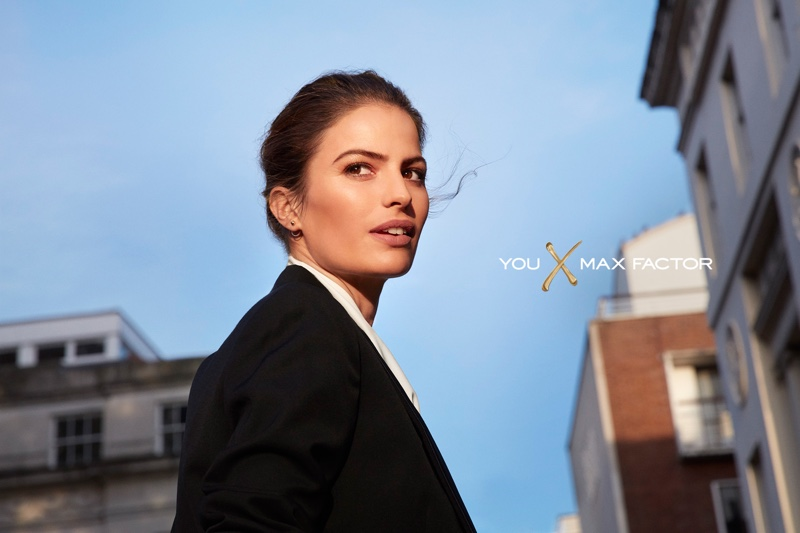 Cameron Russell appears in Max Factor advertising campaign