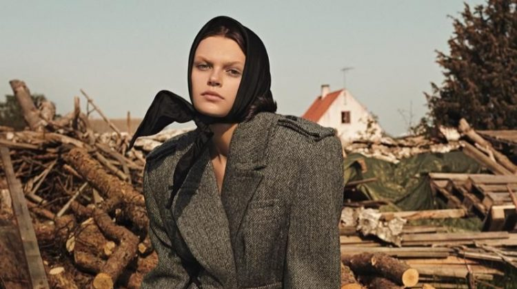 Cara Taylor Layers Up in Autumn Fashion for WSJ. Magazine