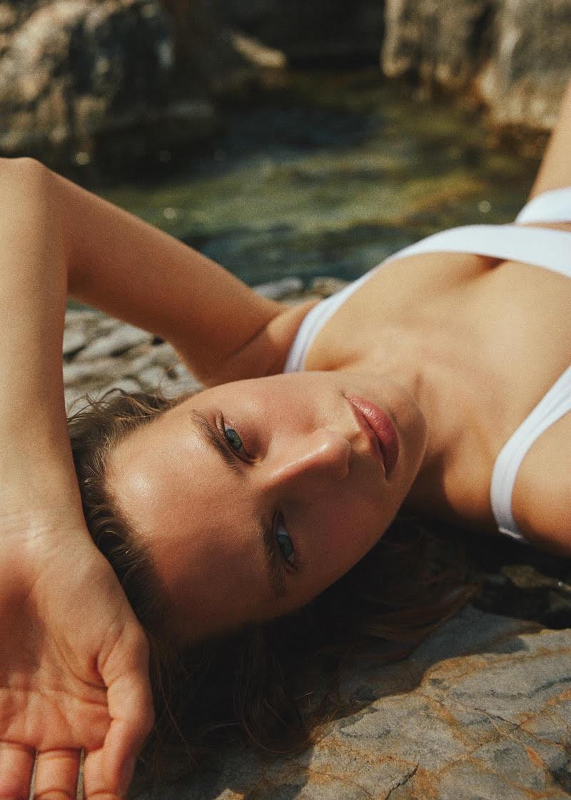 Catharina Zeitner Dives Into Swimwear for ELLE Turkey