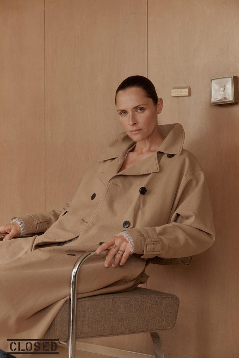 Tasha Tilberg stars in Closed fall-winter 2019 campaign