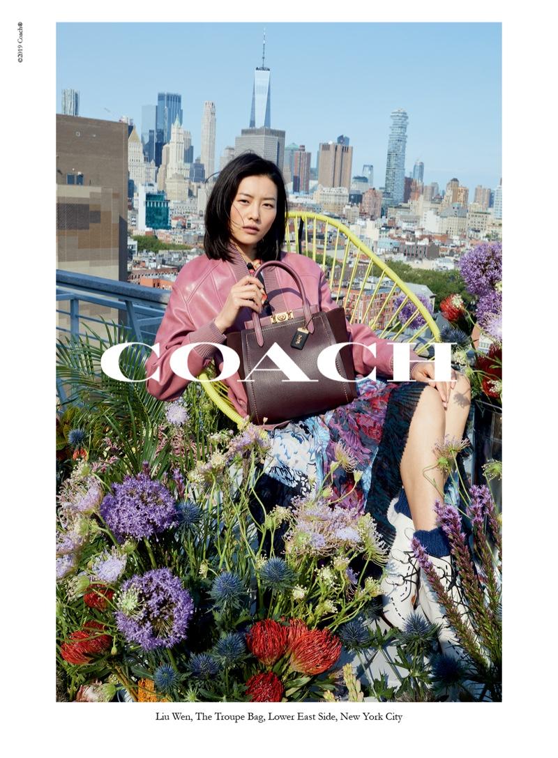 Liu Wens stars in Coach fall-winter 2019 campaign