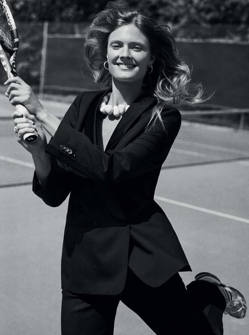 Constance Jablonski is A Natural Beauty for Costume Magazine
