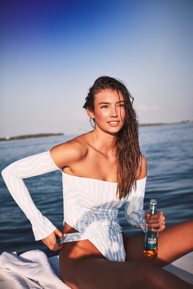 Lorena Rae stars in Devon Windsor Swim summer 2019 campaign