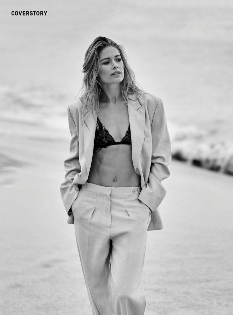 Doutzen Kroes Models Beachy Summer Style for Grazia France