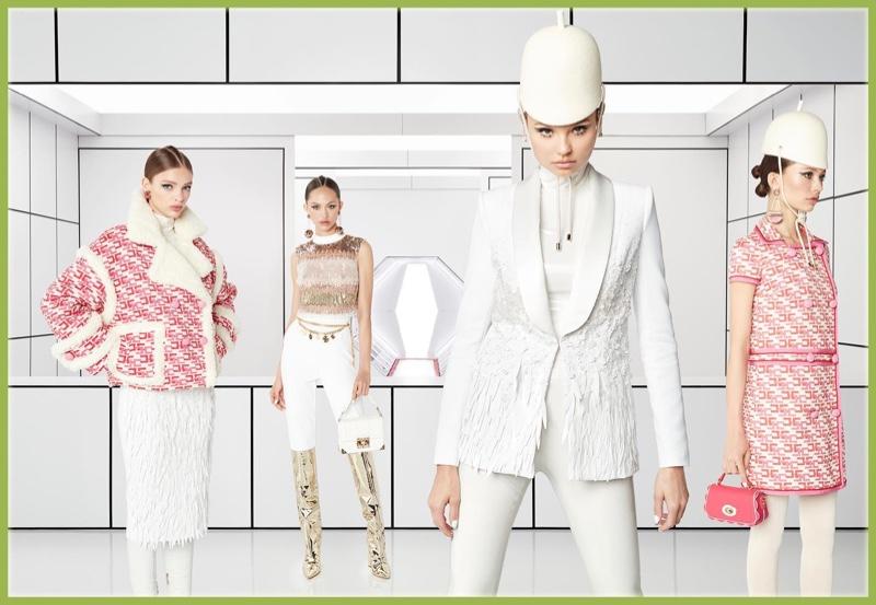 Model Magdalena Frackowiak leads Elisabetta Franchi fall-winter 2019 campaign
