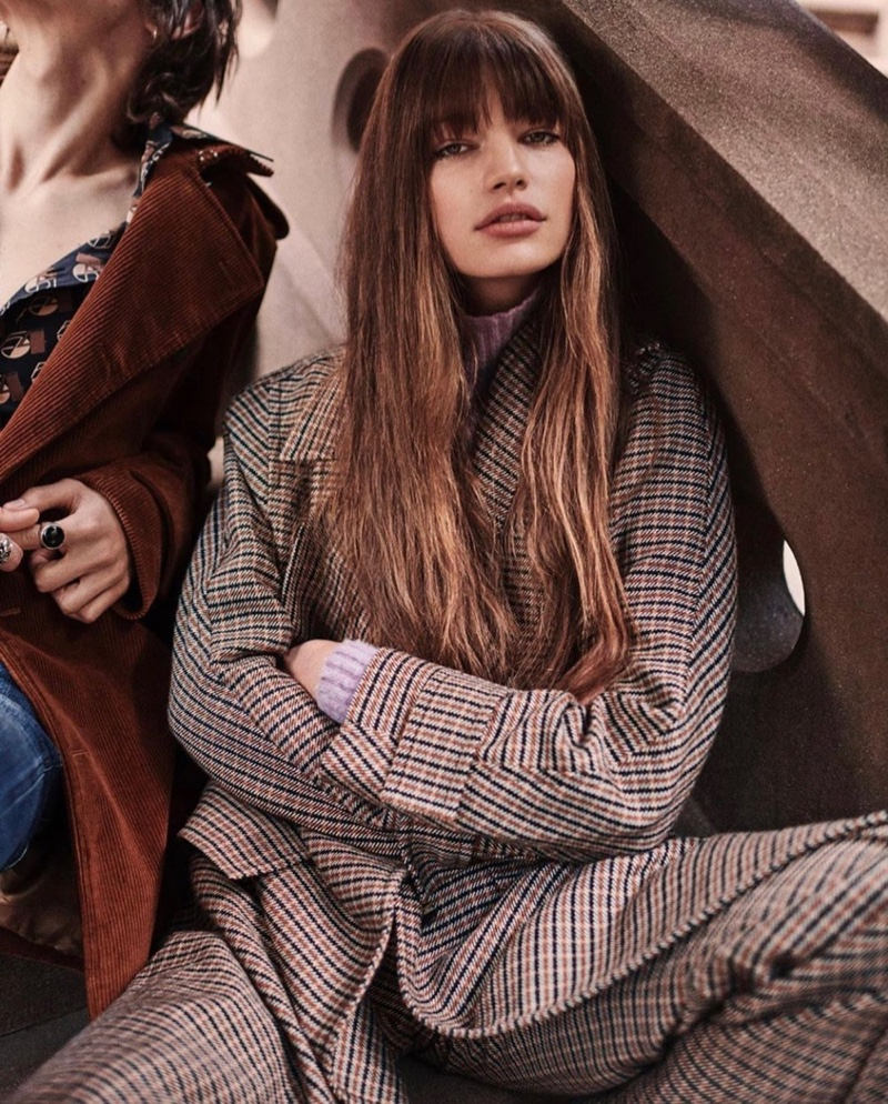 Faretta Channels Seventies Style for Vogue Japan