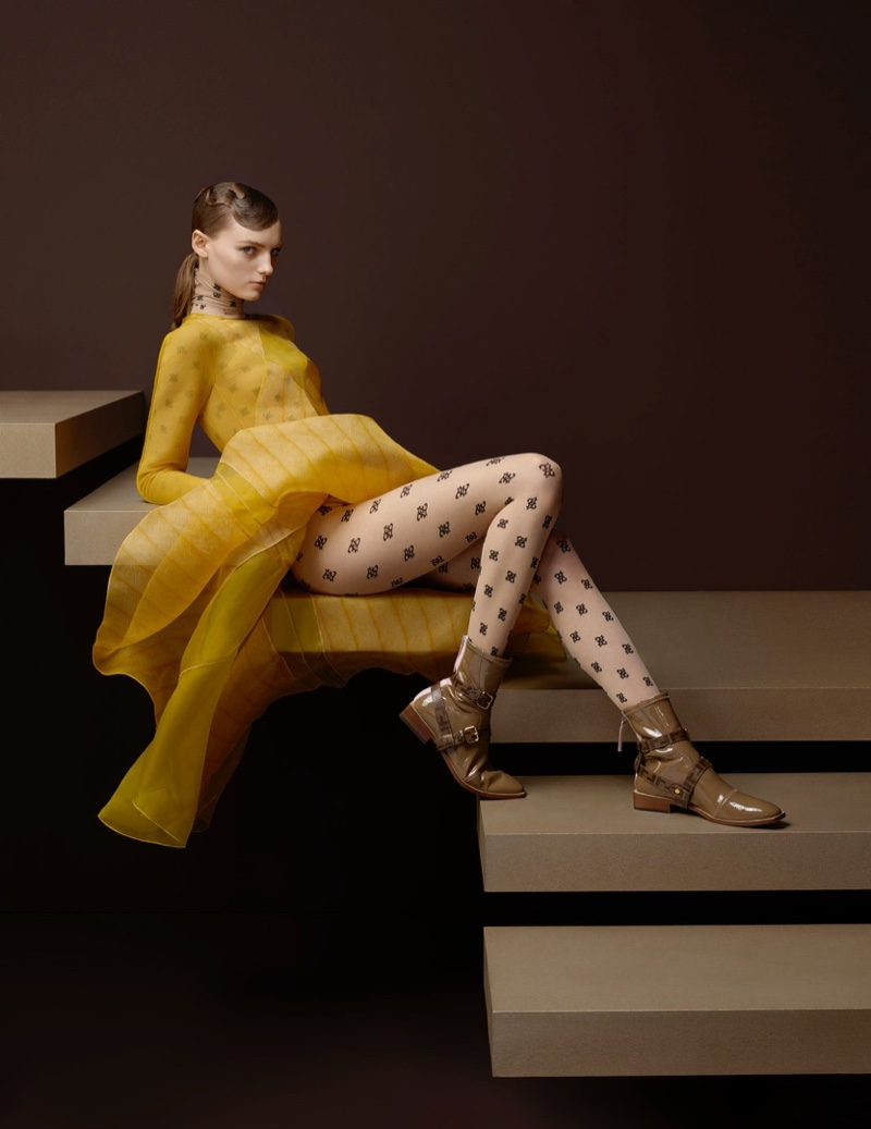 An image from the Fendi fall 2019 advertising campaign