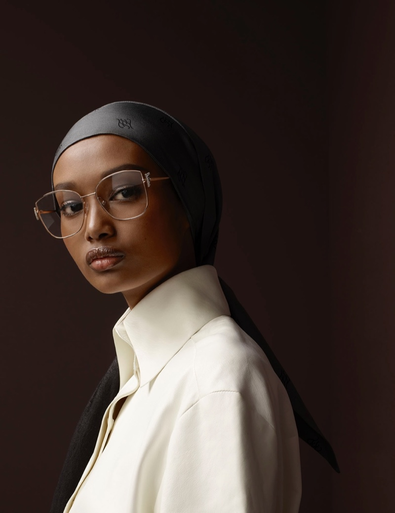 Ugbad fronts Fendi fall-winter 2019 campaign