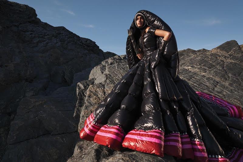 Gizele Oliveira Wears Fashion Forward Looks in Harper's Bazaar Arabia