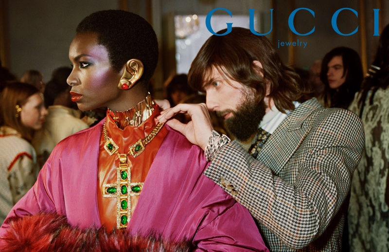 Gucci spotlights throwback fashion for fall-winter 2019 campaign
