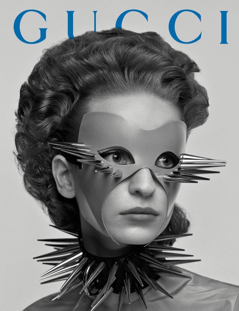 Masks take the spotlight for Gucci fall-winter 2019 campaign